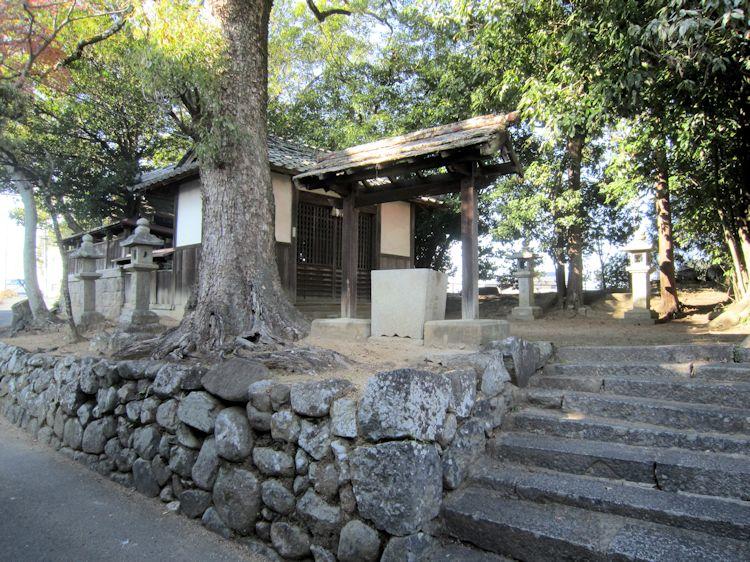 桜井市芝の九日神社