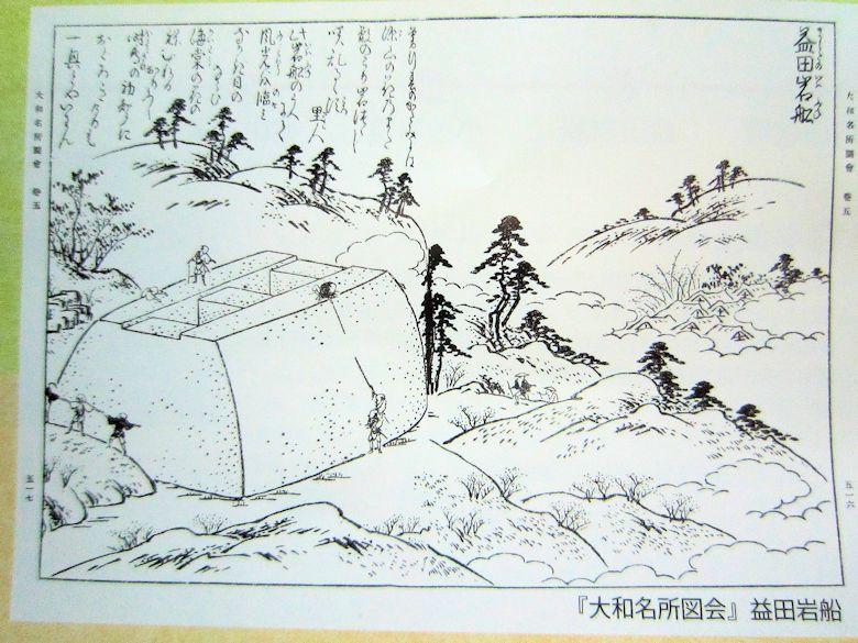 『大和名所図絵』益田岩船