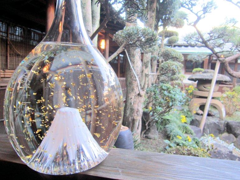 富士山の婚礼ボトル