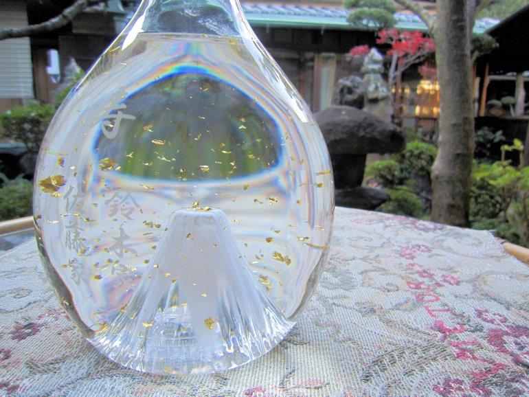 富士山婚礼ボトル