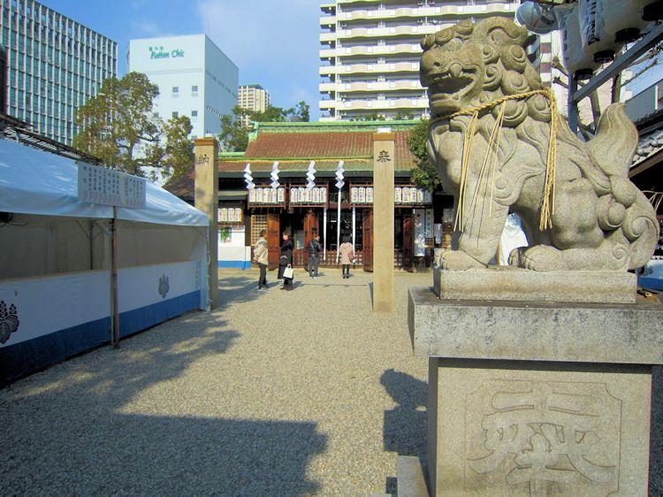 廣田神社狛犬