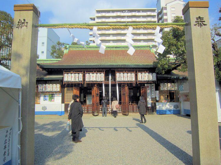 廣田神社注連石