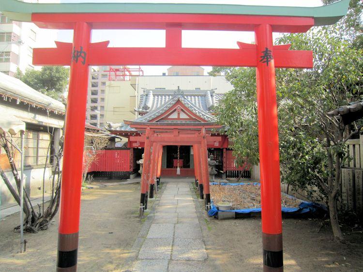 廣田神社の赤土稲荷社