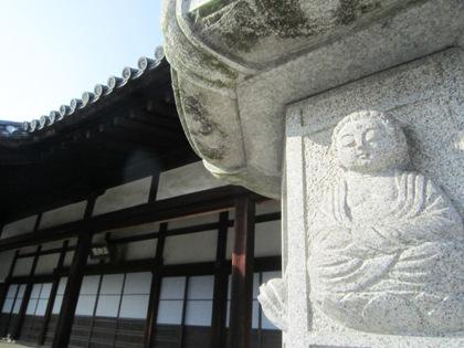 五劫院の石燈籠