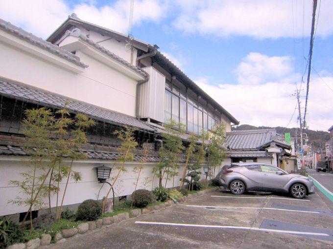 料理旅館大正楼駐車場