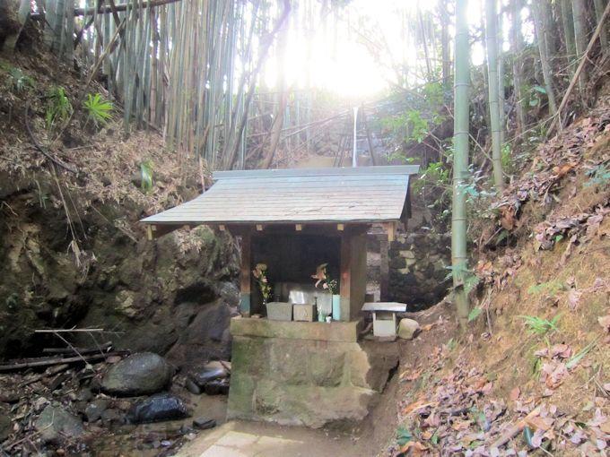 平等寺の不動の滝