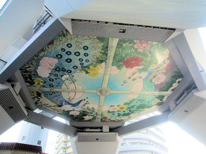 通天閣の天井画