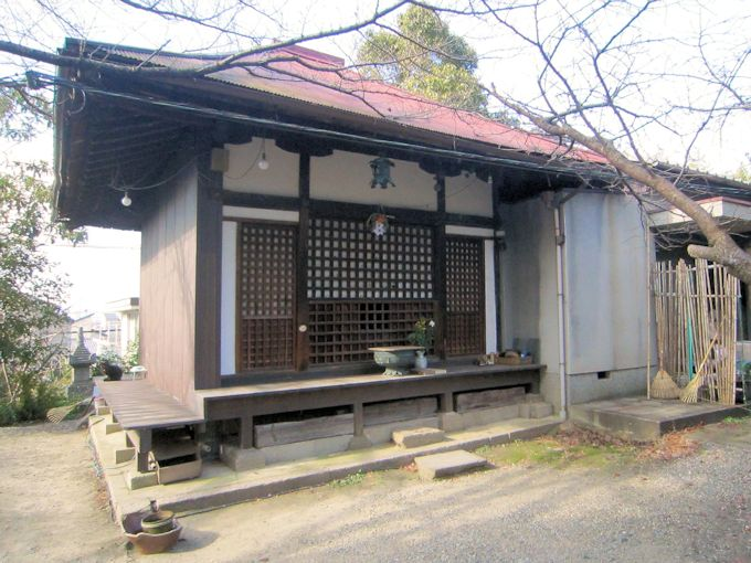 元興寺小塔院跡の虚空蔵堂