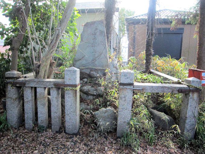 元興寺小塔院跡の供養墓