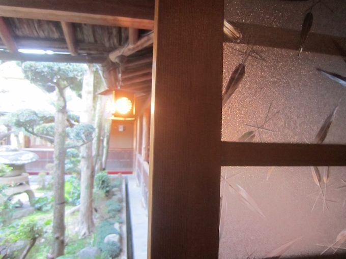 昭和型板ガラス笹