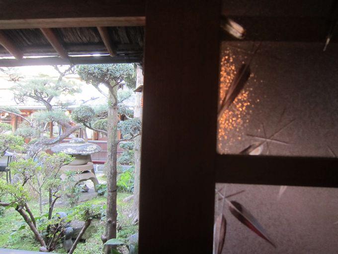 昭和型板ガラス「笹」