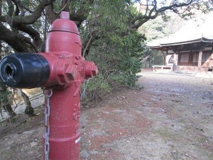 東大寺知足院の消火栓