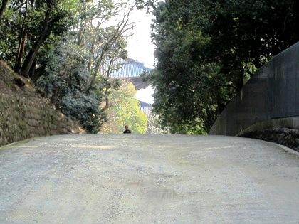 東大寺大仏殿への道