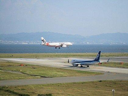 飛行機の離着陸