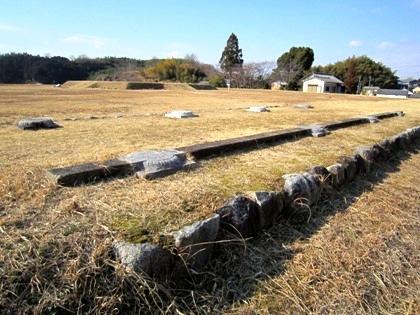 山田寺跡回廊