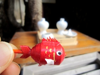 三輪坐恵比須神社の鯛守り