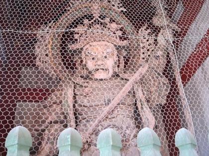 東大寺中門の持国天