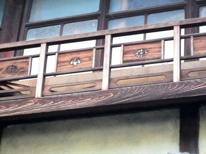 元林院町の建物意匠