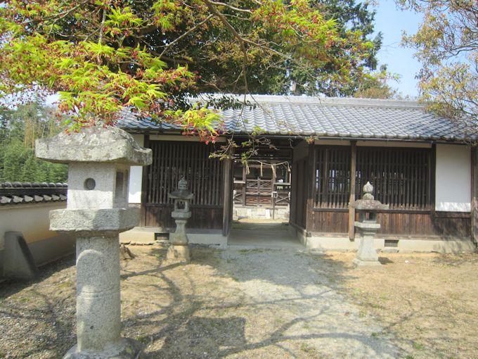 大原神社拝殿