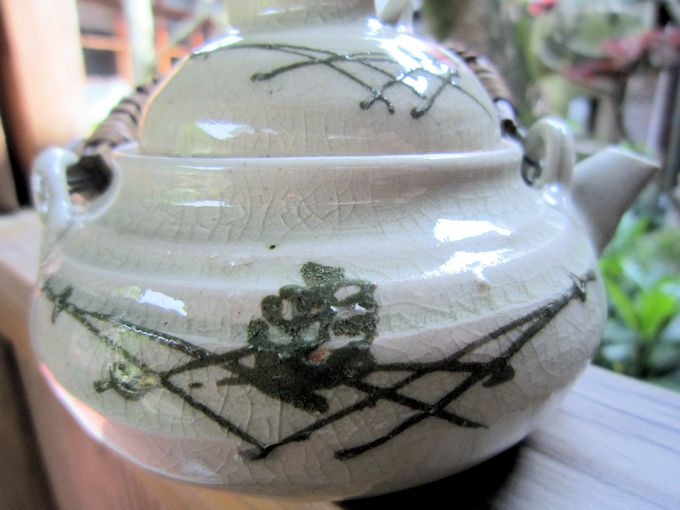 松葉文様の土瓶蒸し器