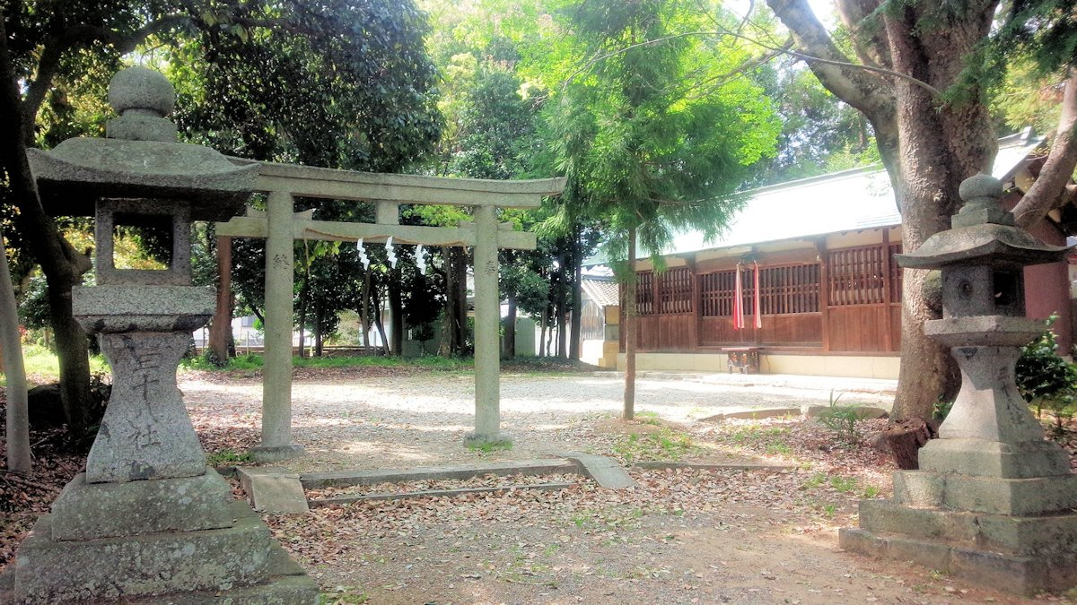 桜井市の殖栗神社