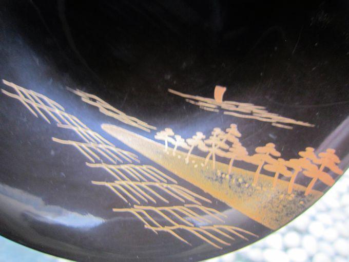 松島蒔絵椀