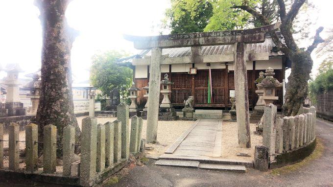 新屋敷坐春日神社