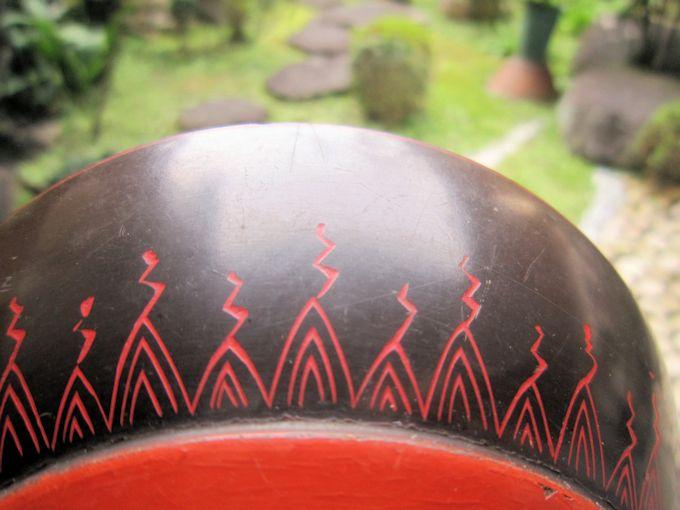 輪島塗のデザイン