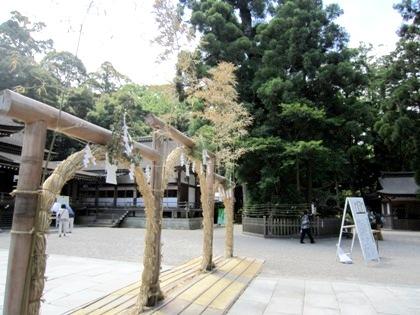 大神神社の茅の輪