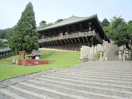 東大寺二月堂の石段