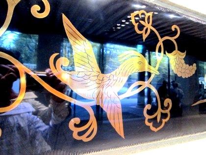 東大寺ミュージアムの花喰鳥