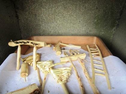 今里杵築神社のミニ農具