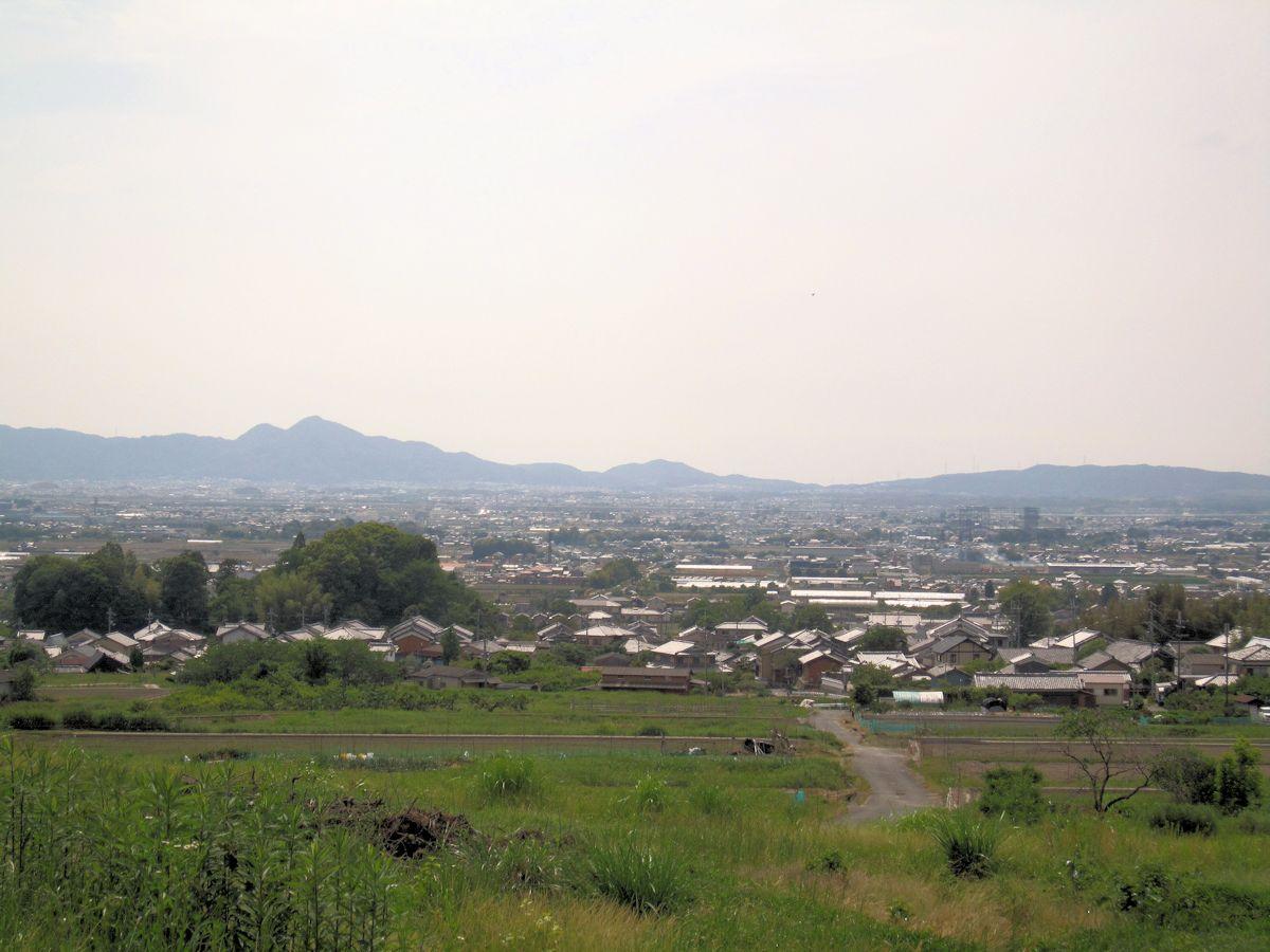 ヲカタ塚古墳の絶景
