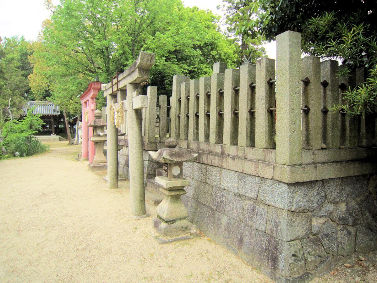 笠縫神社と春日神社