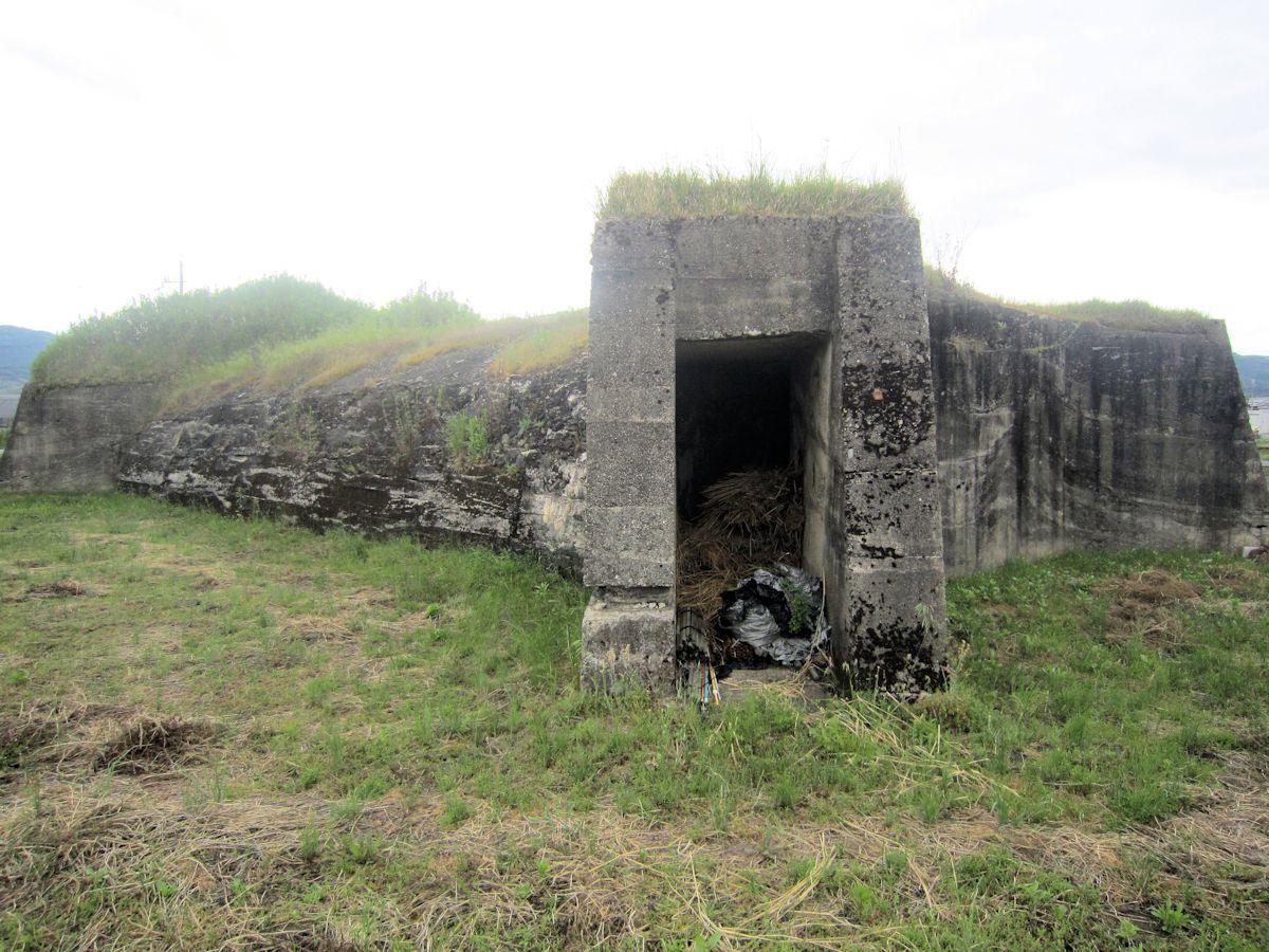 柳本防空壕