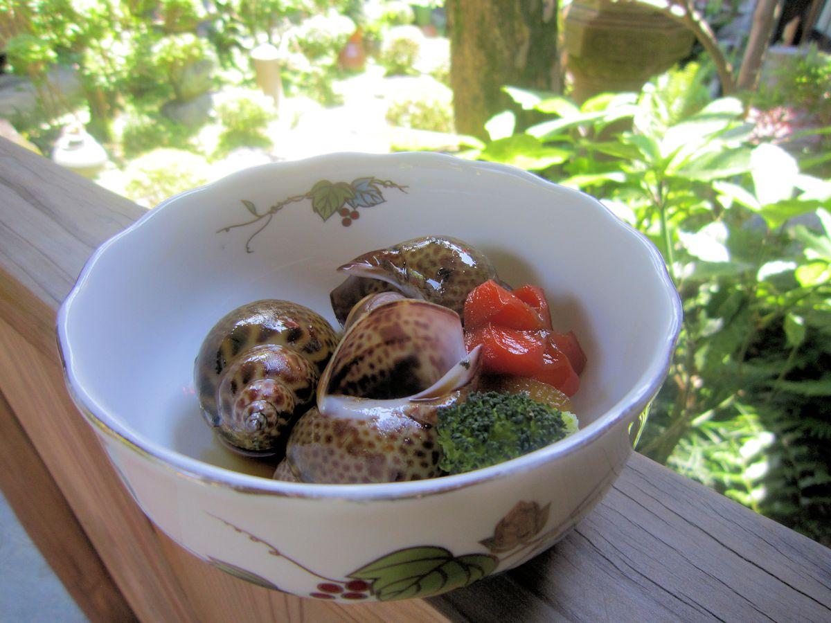 バイ貝の旨煮