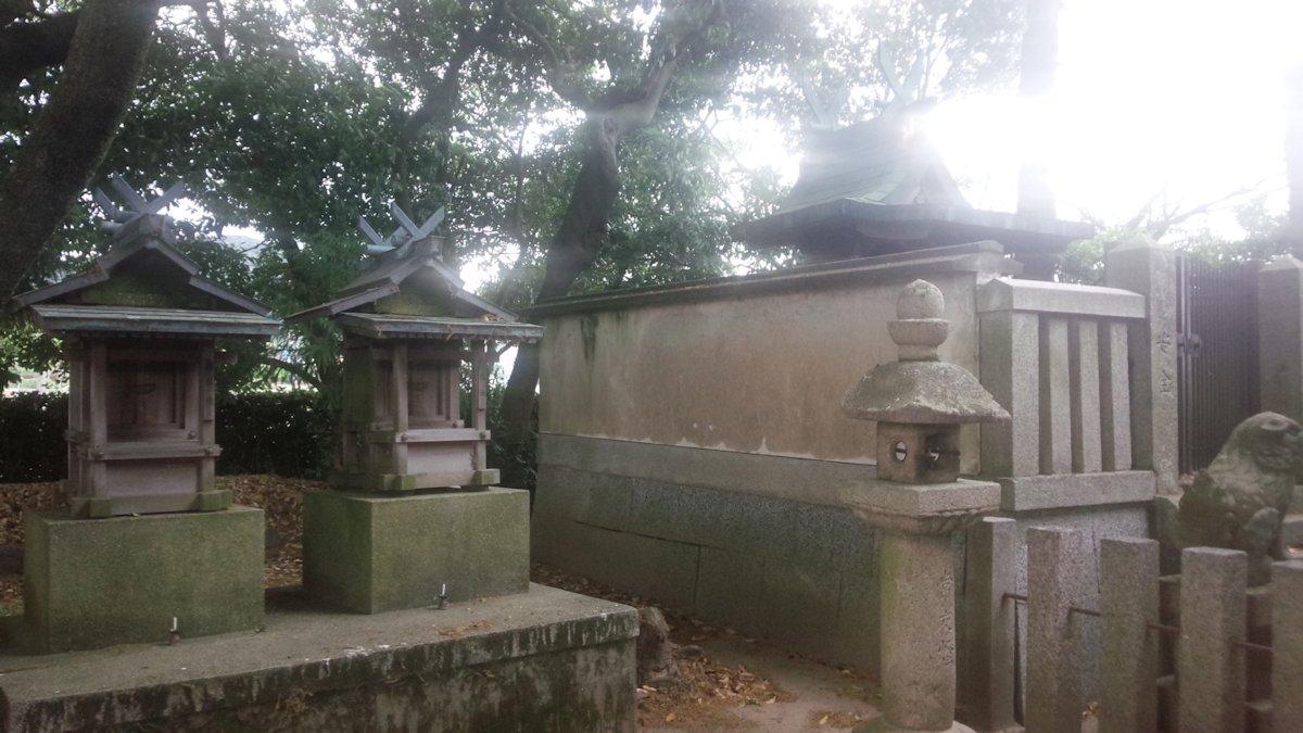 桜井市豊前の白山神社