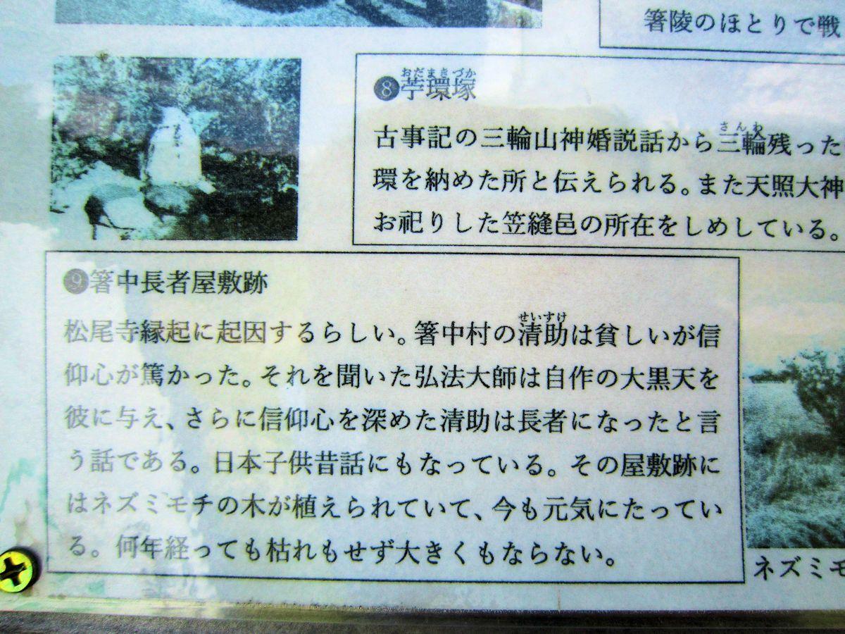 箸中長者屋敷跡の解説