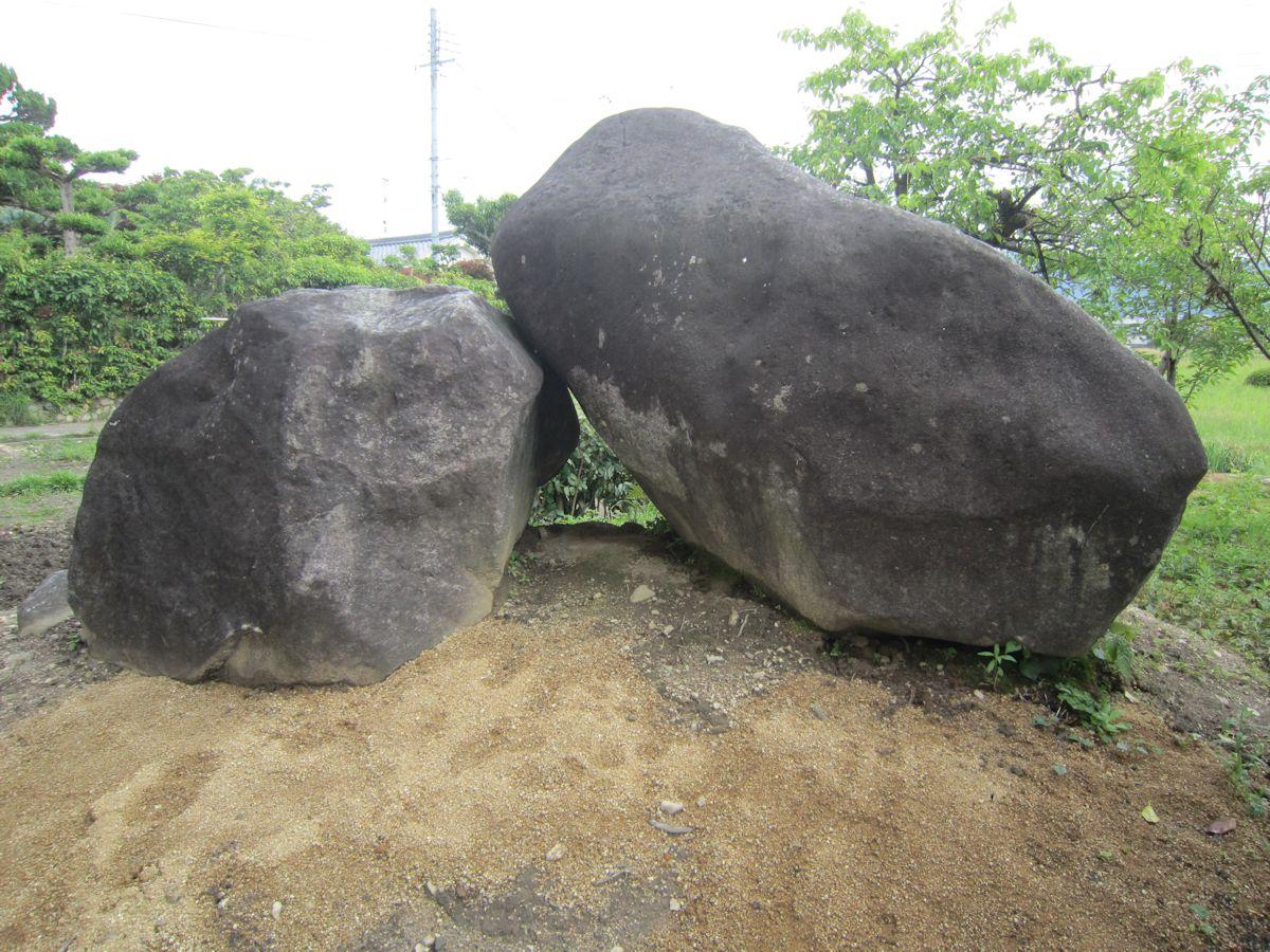 桜井市箸中の馬塚古墳