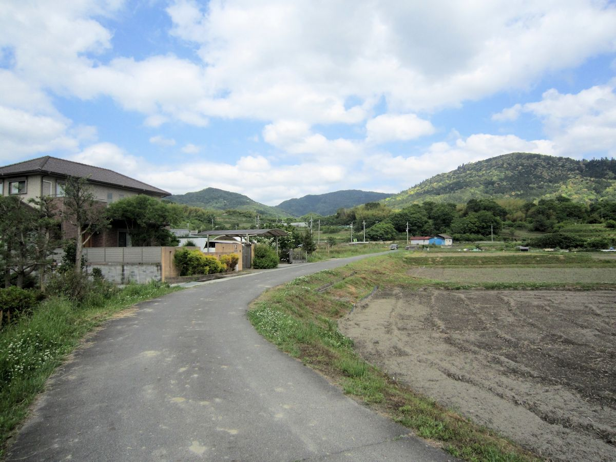 三輪山と弓月岳