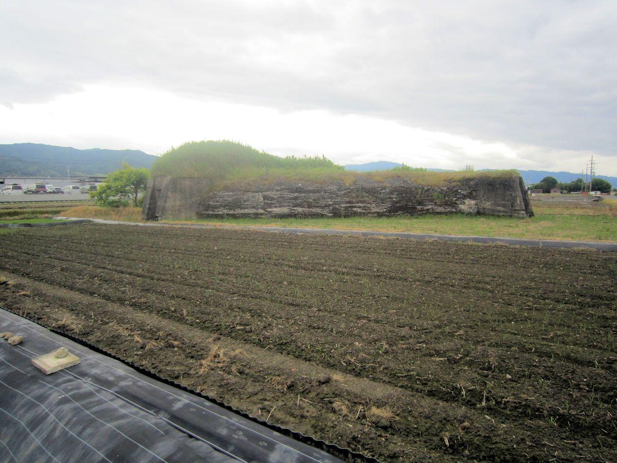 柳本の防空壕