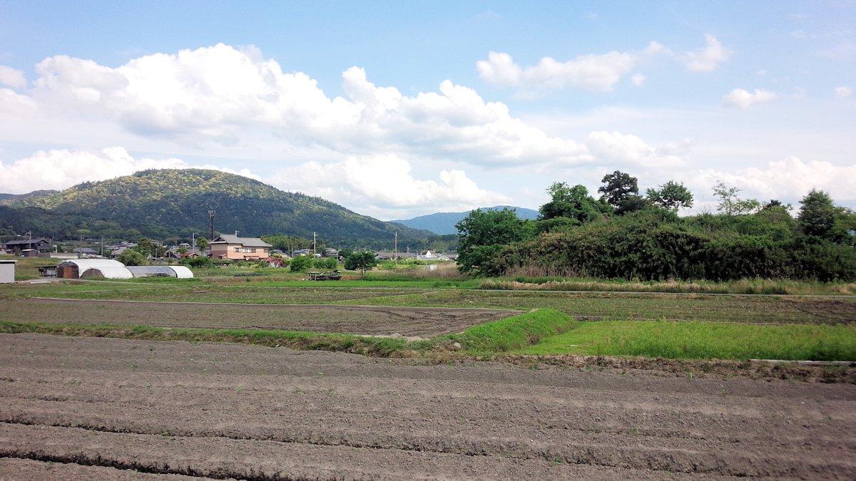 柳本大塚古墳と三輪山