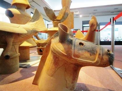 桜井市立埋蔵文化財センターの馬の埴輪