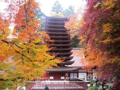 談山神社十三重塔