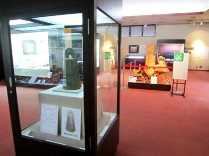 桜井市立埋蔵文化財センターの銅鐸展示