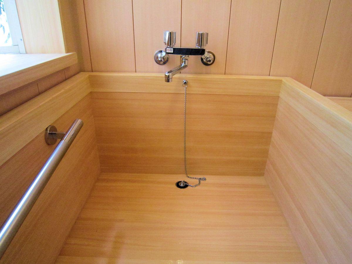 檜風呂浴槽