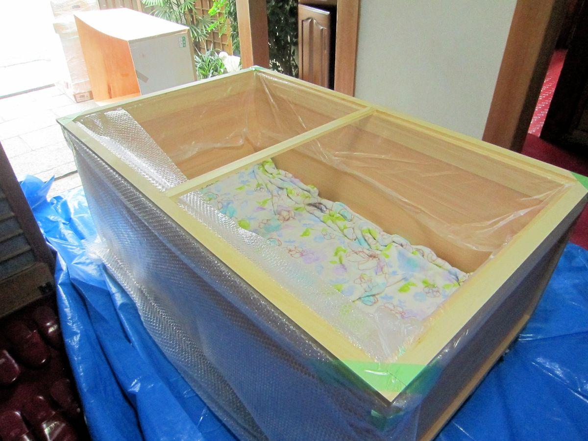 檜風呂搬入