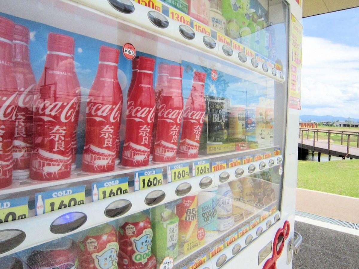 自販機のコカ・コーラ