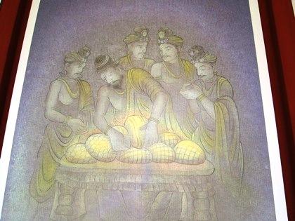 薬師寺の分舎利