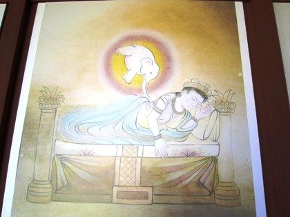 釈迦の入胎